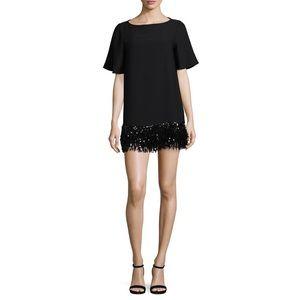 Kate Spade Sequin Fringe Tunic Mini Dress